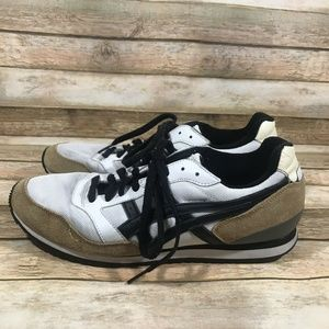 Asics H00AK Shoes Mens Size 10 Sneakers Brown